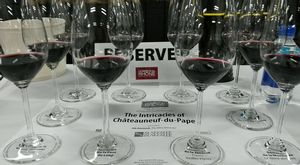 Châteauneuf-du-pape at Paso Robles for the Hospice du Rhône event