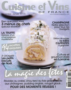 Cuisine Et Vins De France Decembre Janvier N 173 Aoc Chateauneuf