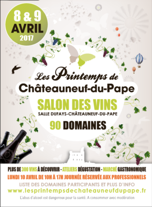 The 8th Printemps de Châteauneuf-du-Pape wine fair