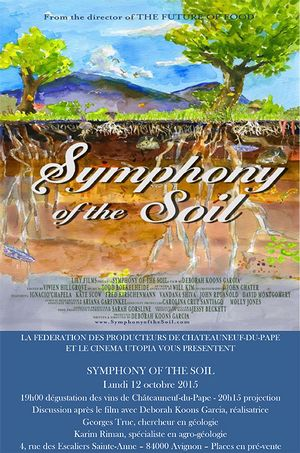 """One night at the movies… watching and discussing """"Symphony of the Soil"""""""