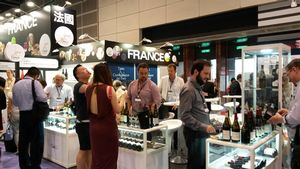 Vinexpo Asia-Pacific in Hong Kong...