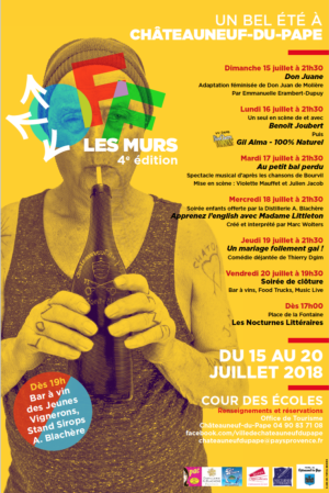 15-20 July : Châto'Off the walls