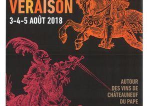 3-5 august : Fête de la Véraison