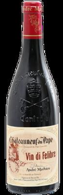 DOMAINE ANDRÉ MATHIEU, Châteauneuf-du-Pape Rouge Vin Di Felibre 2015 [copie]