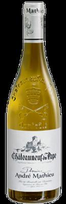 DOMAINE ANDRÉ MATHIEU, Châteauneuf-du-Pape Blanc 2015 [copie] [copie]