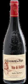 DOMAINE ANDRÉ MATHIEU, Châteauneuf-du-Pape Rouge Vin Di Felibre 2015