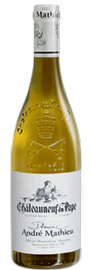 DOMAINE ANDRÉ MATHIEU, Châteauneuf-du-Pape Blanc 2015 [copie] [copie] [copie]