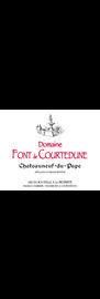 DOMAINE FONT DE COURTEDUNE, Châteauneuf-du-Pape Rouge 2018