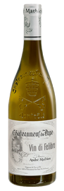 DOMAINE ANDRÉ MATHIEU, Châteauneuf-du-Pape Blanc Vin Di Felibre 2015 [copie] [copie] [copie] [copie]